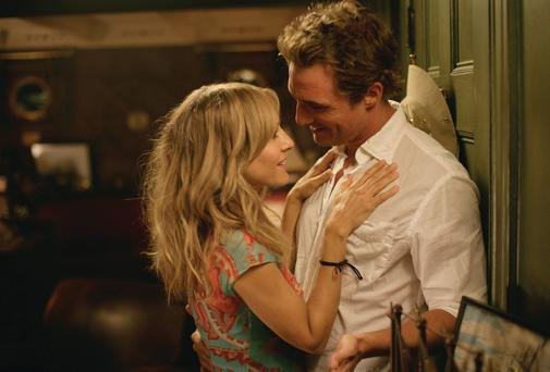 Matthew McConaughey and Sarah Jessica Parker in Failure to Launch