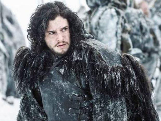 Jon Snow, played by Kit Harrington, on the other side of the Wall.JPG