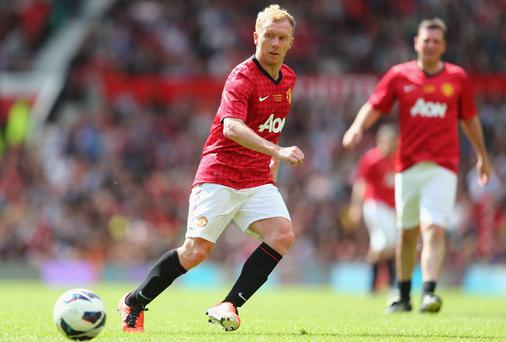 Paul Scholes enjoyed a career of success at Manchester United under Sir Alex Ferguson