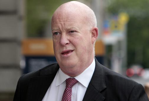 EMISSARY: Brian Purcell was sent to Callinan's home