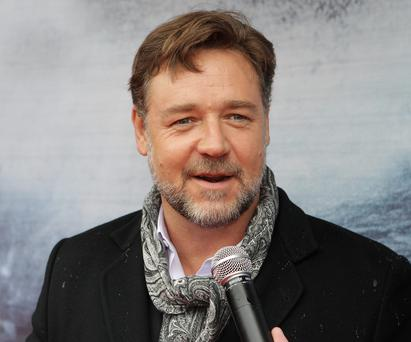 Russell Crowe at the irish Premiere screening of