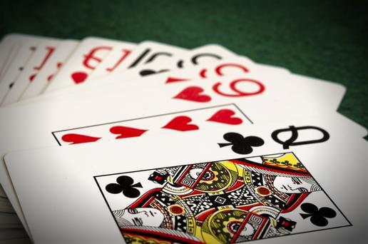 Playing cards (stock photo)