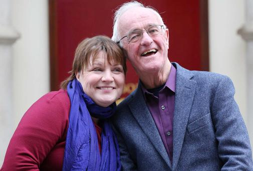 Mary McEvoy and Frank Kelly