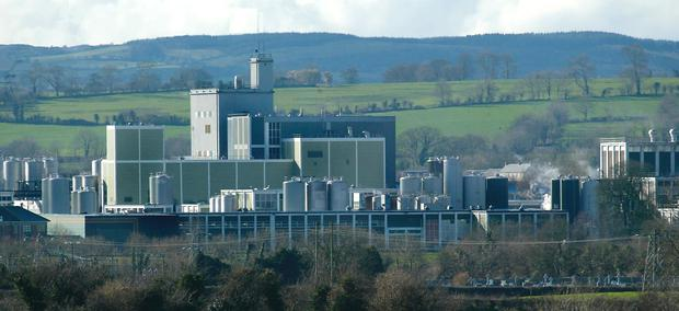 The Glanbia plant in Ballyragget, Co. Kilkenny.