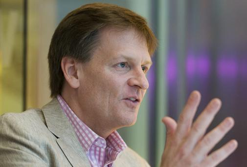 "In his latest book, 'Flash Boys: A Wall Street Revolt' author Michael Lewis trains his guns on"" high-frequency training"""