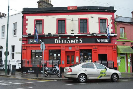 Bellamy's pub in Ballsbridge, Dublin