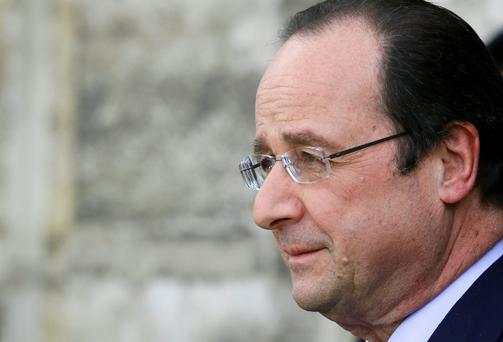French President Francois Hollande REUTERS