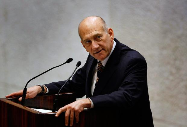 Israel's former prime minister has been convicted of bribery. Photo: REUTERS