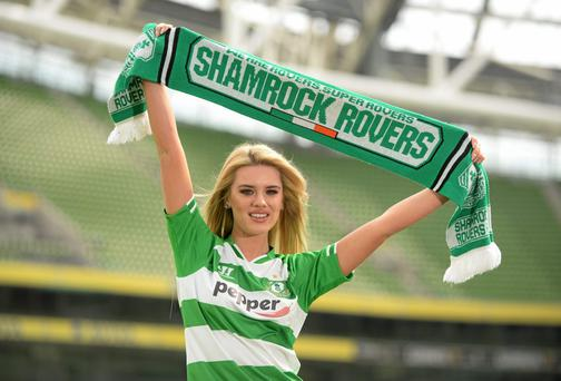 The FAI, Shamrock Rovers FC and Liverpool FC today announced a club friendly game between Shamrock Rovers and Liverpool FC on Wednesday, May 14th in Aviva Stadium