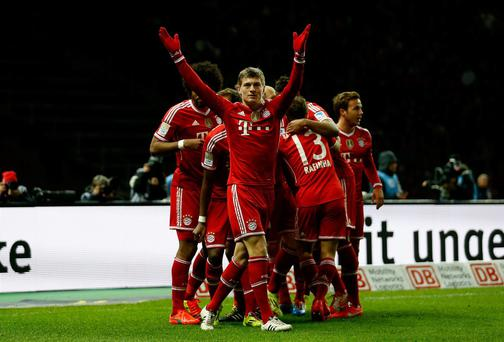 In a team of stars, Toni Kroos has been a class apart for Bayern Munich at times this season