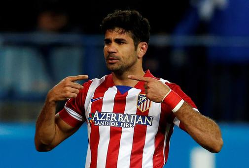 Diego Costa has been Atletico Madrid's outstanding player this season