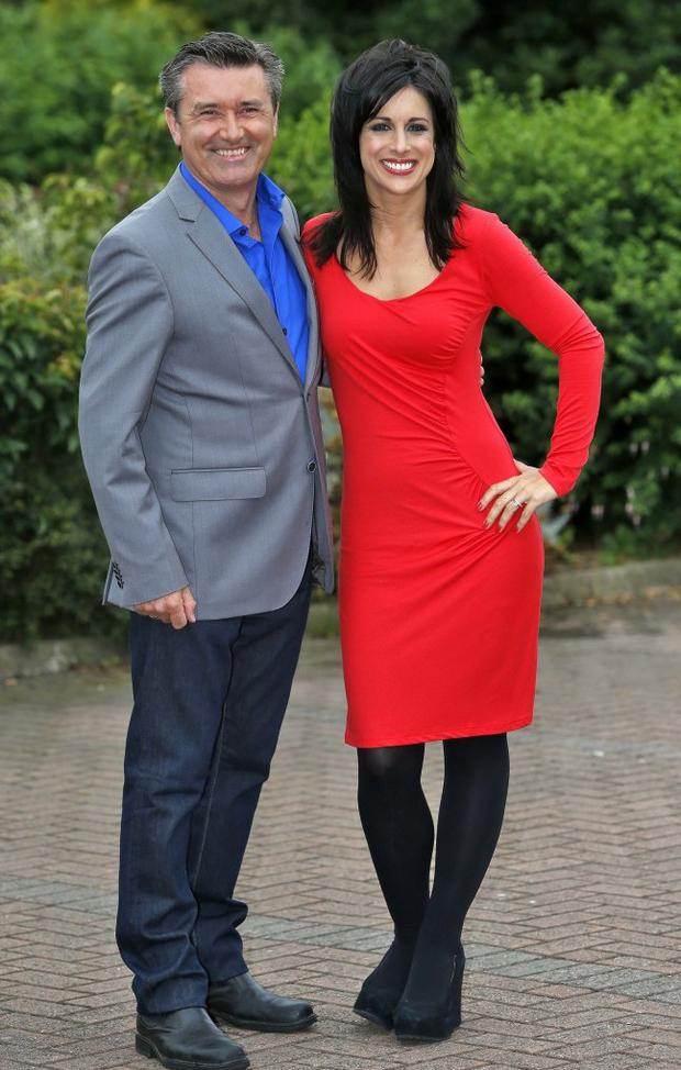 Martin King and Lucy Kennedy host Late Lunch Live on TV3