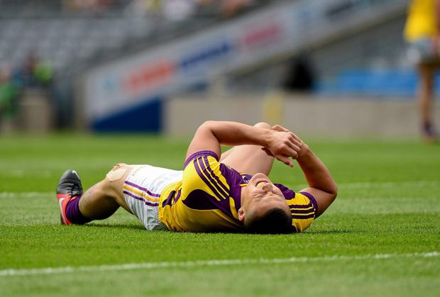 Wexford's Lee Chin is just one of a growing number of players who have been sidelined by the scourge of injury in recent seasons