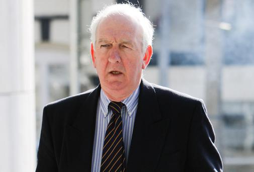 Witness Tom Reid at court yesterday. Picture: Courtpix