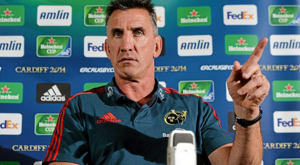 Munster coach Rob Penney fired a warning to referee Nigel Owens to 'get his game face on' ahead of his side's Heineken Cup quarter-final against Toulouse on Saturday