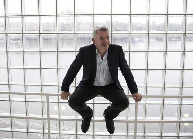 Ryanair boss Michael O'Leary intends to stay at the helm of the airline for at least another five years