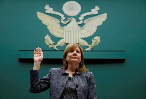 General Motors (GM) Chief Executive Mary Barra