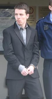 Richard Walsh, who repeatedly spat and lashed out at gardai, was sentenced to six months