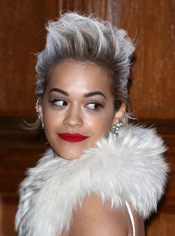 Rita Ora attends the preview of The Glamour of Italian Fashion exhibition at Victoria & Albert Museum on April 1, 2014 in London, England. (Photo by Tim P. Whitby/Getty Images)
