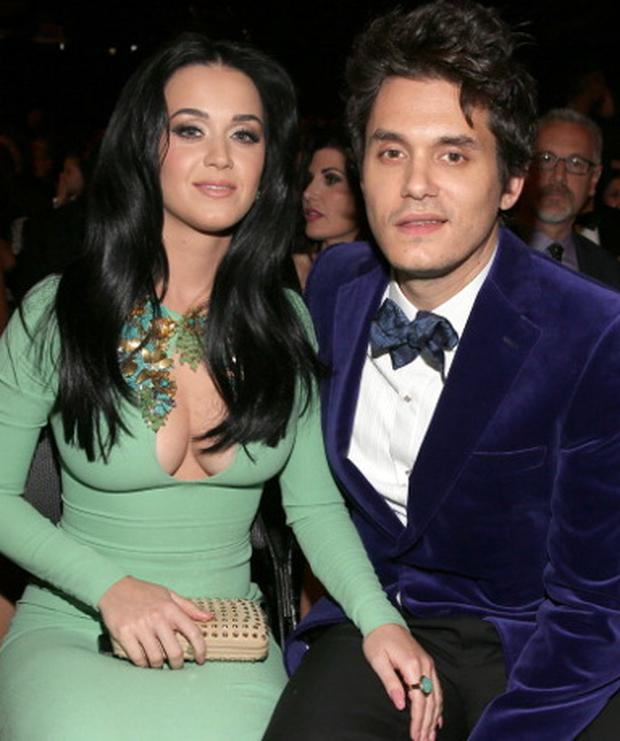 Katy and former partner John Mayer