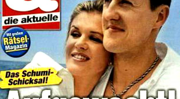 The controversial cover of Die Aktuelle