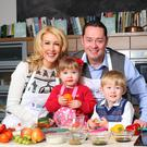 Celebrity chef Neven Maguire along his wife Amelda and their two adorable twins Connor and Lucia
