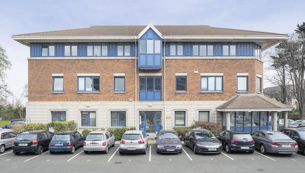 The office block at Richview Office Park, Clonskeagh, Dublin, which is on the market for €2.3m