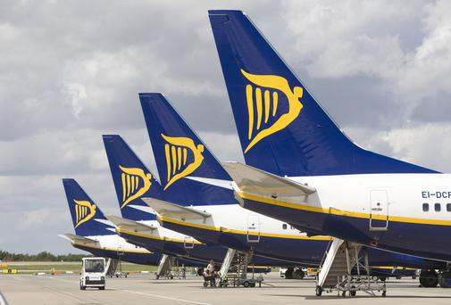 Ryanair - pitching a €3 billion bond programme to investors.