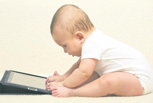 An Apple a day? Babies' concentrations may be affected by early exposure to tablets and smartphones