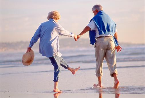 The large majority of older people said they were still in good health.
