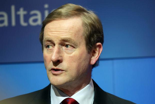Taoiseach Enda Kenny has said more details on water charges will be released within weeks. Photo: Collins