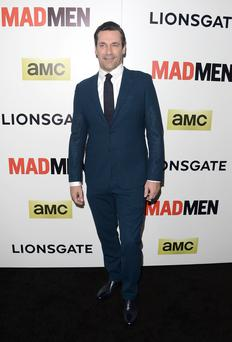 Actor Jon Hamm attends the AMC celebration of the 'Mad Men' season 7 premiere at ArcLight Cinemas on April 2, 2014 in Hollywood, California. (Photo by Jason Merritt/Getty Images)