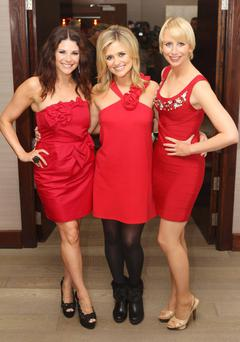 Xpose presenters (L to R) Lisa Cannon, Karen Koster and Aisling O'Loughlin are three of Ireland's best known tv stars