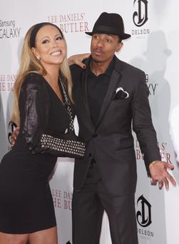 Singer/actress Mariah Carey and actor/tv personality Nick Cannon