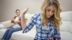 New research has found that micro-managing teenagers can have a damaging impact on their relationships in adolescence and early adulthood. Picture posed. Thinkstock Images