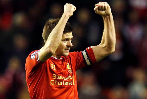 Steven Gerrard is in the running for the PFA Player of the Year award after adapting to a holding role under Brendan Rodgers this season