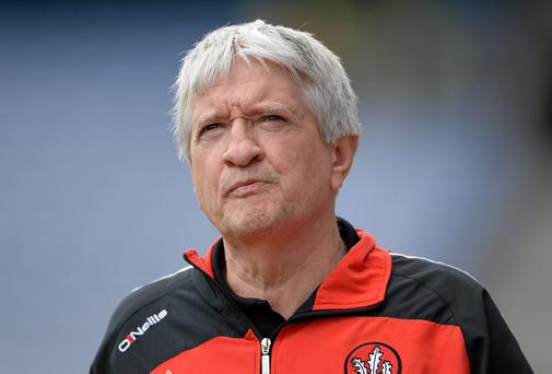 Derry manager Brian McIver