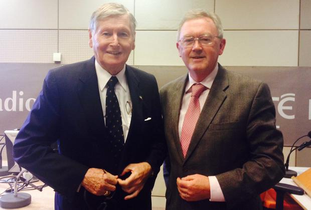 Sean O'Rourke and Michael Smurfit
