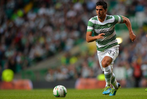 Beram Kayal of Celtic