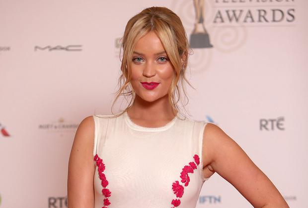 Laura Whitmore pictured at the IFTA. Picture: Gerry Mooney
