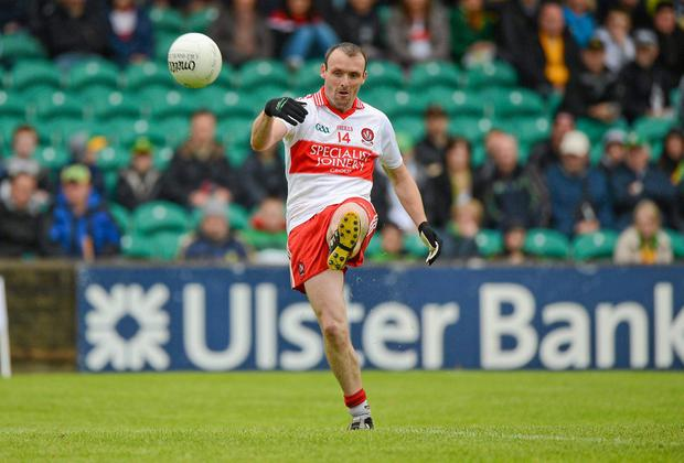 Former Derry player Paddy Bradley believes defensive tactics are still important