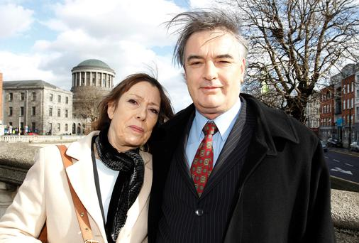 Jules Thomas and partner Ian Bailey. (Photo: Collins Court).