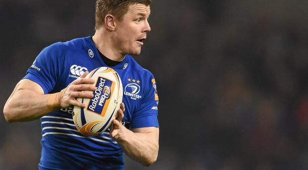 Brian O'Driscoll, Leinster in last weekend's match against Munster. Picture: Stephen McCarthy / SPORTSFILE