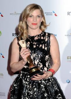 Pictures: G. McDonnell / Cathal Burke / VIPIRELAND.COM Eva Birthistle (Best TV Actress)