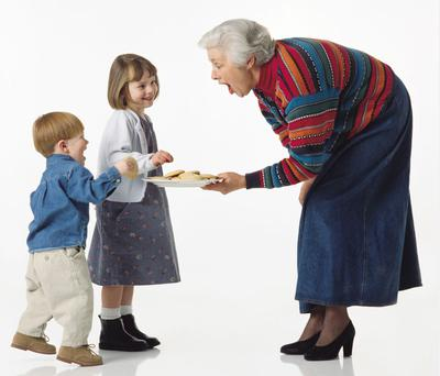 Grandparents' generosity with food has been linked to obesity in children