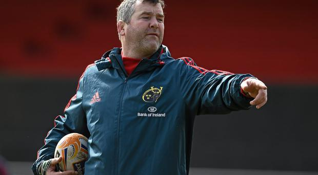 Munster forwards coach Anthony Foley