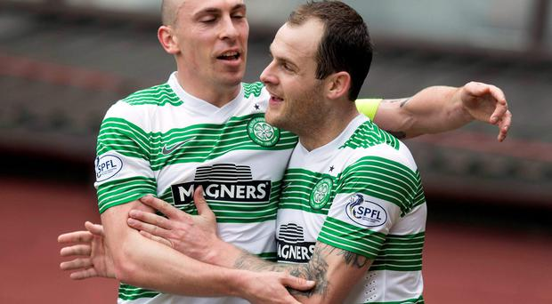 Celtic's Anthony Stokes has scored 15 goals this season