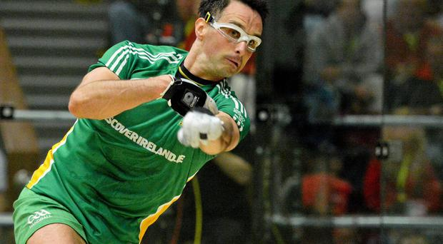 Brady delivered arguably the best performance of his illustrious career as he saw off young Cork sensation Killian Carroll 21-8, 21-2 in just under an hour