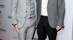 Gogglebox's Chris Steed (left) and Stephen Webb