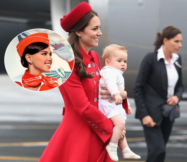 6c59d561a AeroFLOP: Kate Middleton takes rare fashion misstep in airline ...